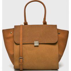 Roxy - Torebka. Brązowe torby na ramię damskie Roxy. Za 189.90 zł.