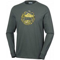 Columbia Riley Ridge Long Sleeve Shirt Gravel Xl. Szare bluzki z długim rękawem męskie Columbia, z nadrukiem, z bawełny. W wyprzedaży za 85.00 zł.
