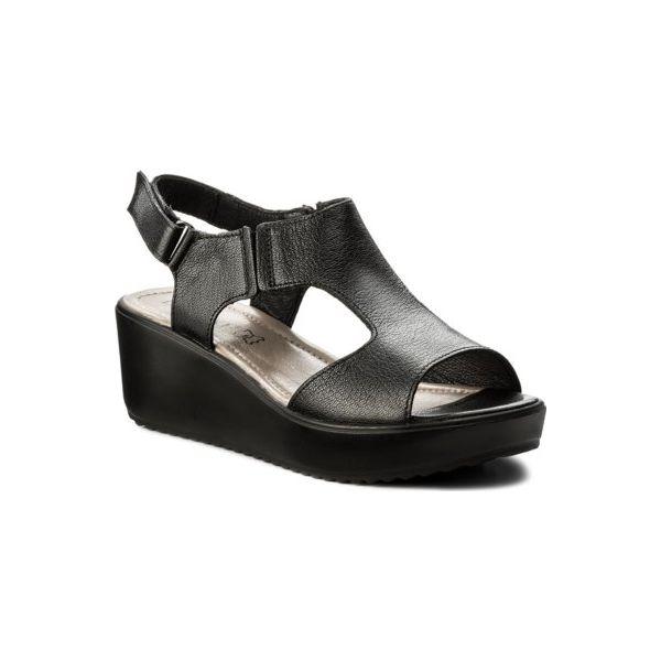 sandały lasocki 7512-01 czarny
