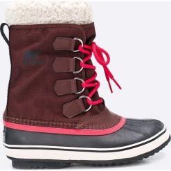 Sorel - Śniegowce Winter Carnival. Buty zimowe dziewczęce marki bonprix. W wyprzedaży za 269.90 zł.