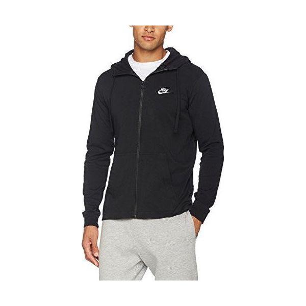 oficjalne zdjęcia ogromna zniżka trampki Nike Bluza męska M NSW Hoodie FZ JSY Club czarna r. L (861754-010)