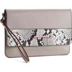 Torebka CALVIN KLEIN - Heath3r Exotic Clutch K60K602732  069. Brązowe torebki do ręki damskie Calvin Klein, ze skóry ekologicznej. W wyprzedaży za 299.00 zł.