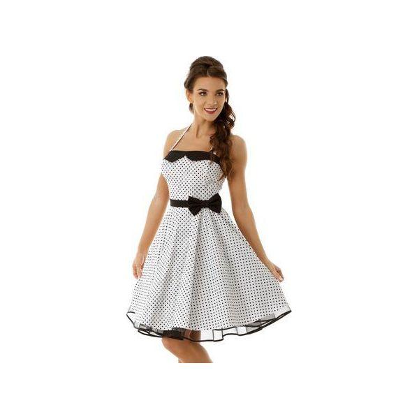 1012c593368aca Sukienka rozkloszowana PIN UP ED001-10 - Sukienki damskie marki Ella ...