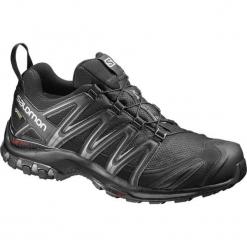 Salomon Buty Trekkingowe Xa Pro 3d Gtx Black/Black/Magnet 46.7. Czarne trekkingi męskie Salomon, z gore-texu. W wyprzedaży za 479.00 zł.