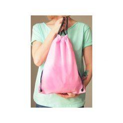 Plecak worek jasnoróżowy. Czerwone plecaki damskie One mug a day, z poliesteru, klasyczne. Za 39.00 zł.