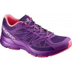 Salomon Buty Do Biegania Sonic Aero W Cosmic Purple/Azalee Pink/Madder Pink 38.7. Fioletowe obuwie sportowe damskie Salomon, z materiału. W wyprzedaży za 349.00 zł.