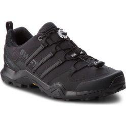 Buty adidas - Terrex Swift R2 CM7486 Cblack/Cblack/Cblack. Czarne trekkingi męskie Adidas, z gore-texu. W wyprzedaży za 369.00 zł.
