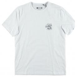 Mustang T-Shirt Męski, Xxl, Biały. Białe t-shirty męskie Mustang, z bawełny. Za 78.00 zł.