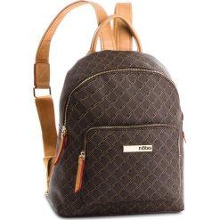 Plecak NOBO - NBAG-F2280-C017 Brązowy. Brązowe plecaki damskie Nobo, ze skóry ekologicznej, klasyczne. W wyprzedaży za 199.00 zł.