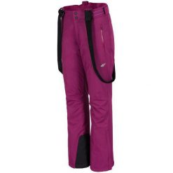 4F Damskie Spodnie Narciarskie H4Z17 spdn001 Fiolet Purpurowy Xl. Fioletowe spodnie snowboardowe damskie 4f, eleganckie. W wyprzedaży za 179.00 zł.