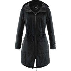 Luźniejszy płaszcz lekko ocieplany bonprix czarny. Płaszcze damskie marki FOUGANZA. Za 139.99 zł.