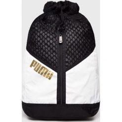 Puma - Plecak. Czarne plecaki damskie Puma, z nylonu. Za 249.90 zł.