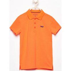 Koszulka polo - Pomarańczo. T-shirty dla chłopców marki Reserved. W wyprzedaży za 19.99 zł.