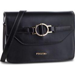 Torebka PUCCINI - BT28580 Czarny 1. Czarne torebki do ręki damskie Puccini, ze skóry ekologicznej. W wyprzedaży za 188.00 zł.