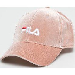 Fila - Czapka. Szare czapki i kapelusze damskie Fila, z elastanu. W wyprzedaży za 119.90 zł.