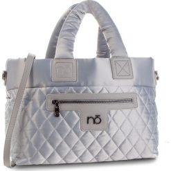 Torebka NOBO - NBAG-F4270-C022 Srebrny. Szare torebki do ręki damskie Nobo, z materiału. W wyprzedaży za 179.00 zł.