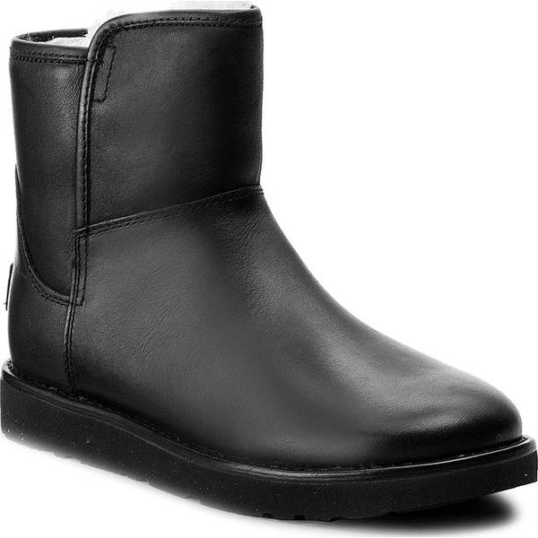 45ecd7f0093 Buty UGG - W Abree Mini Leather 1017851 W/Nero