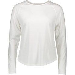 """Koszulka """"Luxemburg"""" w kolorze białym. T-shirty damskie Frieda Sand, z bawełny, z okrągłym kołnierzem, z długim rękawem. W wyprzedaży za 86.95 zł."""