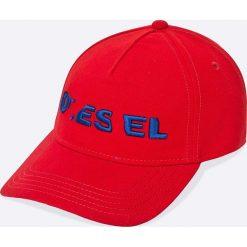 Diesel - Czapka. Białe czapki i kapelusze męskie Diesel. W wyprzedaży za 129.90 zł.
