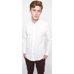 Produkt by Jack & Jones - Koszula. Szare koszule męskie PRODUKT by Jack & Jones, z bawełny, button down, z długim rękawem. W wyprzedaży za 79.90 zł.