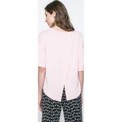 DKNY - Top piżamowy. Szare piżamy damskie DKNY, z dzianiny. W wyprzedaży za 99.90 zł.