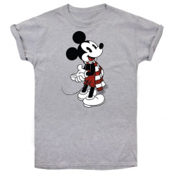 Christmas T-Shirt T-Shirt Damski Mickey Scarf Xl Szary. Szare t-shirty damskie Christmas T-Shirt. Za 65.00 zł.
