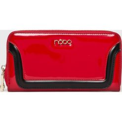 Nobo - Portfel. Czerwone portfele damskie Nobo, z materiału. W wyprzedaży za 99.90 zł.