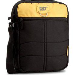 Saszetka CATERPILLAR - Ryan 83434 Black/Yellow 12. Czarne saszetki męskie Caterpillar, z materiału, młodzieżowe. W wyprzedaży za 109.00 zł.