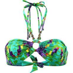 """Biustonosz bikini """"Aran"""" w kolorze turkusowo-zielonym. Biustonosze Val d´Azur. W wyprzedaży za 173.95 zł."""