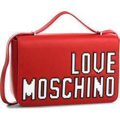 Torebka LOVE MOSCHINO - JC4066PP15LH0500 Rosso. Czerwone listonoszki damskie Love Moschino, ze skóry ekologicznej. W wyprzedaży za 429.00 zł.