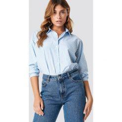 Trendyol Koszula w paski - Blue,Multicolor. Niebieskie koszule damskie Trendyol, w paski, z materiału. Za 121.95 zł.