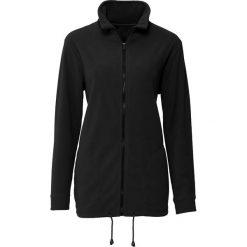 Bluza rozpinana z polaru, długi rękaw bonprix czarny. Bluzy damskie marki KALENJI. Za 79.99 zł.