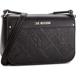 Torebka LOVE MOSCHINO - JC4028PP16LE0000 Nero. Czarne listonoszki damskie Love Moschino, ze skóry ekologicznej. W wyprzedaży za 499.00 zł.