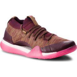 Buty adidas - PureBoost X Trainer 3.0 DA8968 Ngtred/Rawdes/Shopnk. Czerwone obuwie sportowe damskie Adidas, z materiału. W wyprzedaży za 419.00 zł.