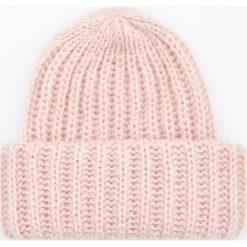 Czapka - Różowy. Czerwone czapki i kapelusze damskie Reserved. Za 49.99 zł.