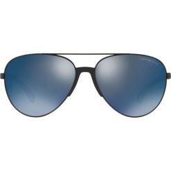 Emporio Armani - Okulary 0EA2059. Brązowe okulary przeciwsłoneczne męskie Emporio Armani, z materiału. Za 739.90 zł.
