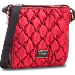 Torebka MONNARI - BAGB321-005  Burgundy. Czerwone listonoszki damskie Monnari, z materiału. W wyprzedaży za 169.00 zł.