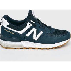 New Balance - Buty MS574FCN. Brązowe buty sportowe męskie New Balance, z materiału. W wyprzedaży za 399.90 zł.