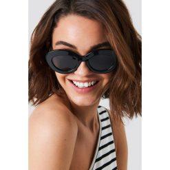 Le Specs Okulary przeciwsłoneczne Fluxus - Black. Czarne okulary przeciwsłoneczne damskie Le Specs. Za 242.95 zł.