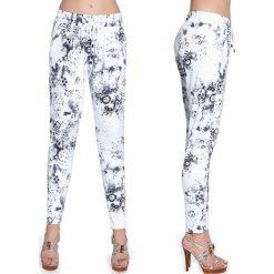 Bas-Bleu Spodnie damskie fitness Bas Black Melody białe r. M (BB220). Spodnie dresowe damskie Bas-Bleu. Za 120.36 zł.