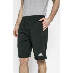Adidas Performance - Szorty. Szare krótkie spodenki sportowe męskie adidas Performance, z dzianiny. W wyprzedaży za 99.90 zł.