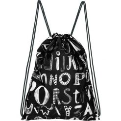 """Plecak """"ABC"""" w kolorze czarnym - 33 x 42,5 cm. Torby i plecaki dziecięce Moses. W wyprzedaży za 26.95 zł."""