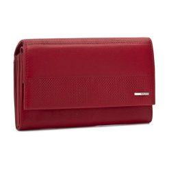 Duży Portfel Damski VALENTINI - 001-01570-0262 Red. Czerwone portfele damskie Valentini, ze skóry. Za 219.00 zł.