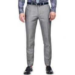 Spodnie LEONARDO SLIM GDSS900097. Eleganckie spodnie męskie marki Giacomo Conti. Za 599.00 zł.