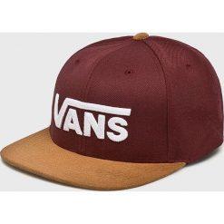 Vans - Czapka. Brązowe czapki i kapelusze męskie Vans. Za 119.90 zł.