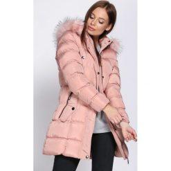 Różowa Kurtka Never Going Back. Czerwone kurtki damskie Born2be, na zimę. Za 229.99 zł.