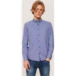 Koszula w pepitkę - Niebieski. Niebieskie koszule męskie House. Za 79.99 zł.