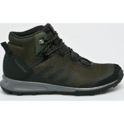 Adidas Performance - Buty Terrex Tivid Mid. Brązowe trekkingi męskie adidas Performance, z materiału. W wyprzedaży za 479.90 zł.