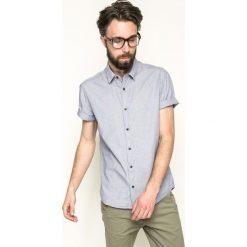 Medicine - Koszula Mr. Robot. Szare koszule męskie MEDICINE, z bawełny, z klasycznym kołnierzykiem, z krótkim rękawem. W wyprzedaży za 59.90 zł.