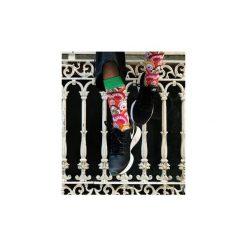 Skarpety KOLOROWA MANGA. Czarne skarpety męskie Wolne skarpetki, w kolorowe wzory, z bawełny. Za 12.00 zł.